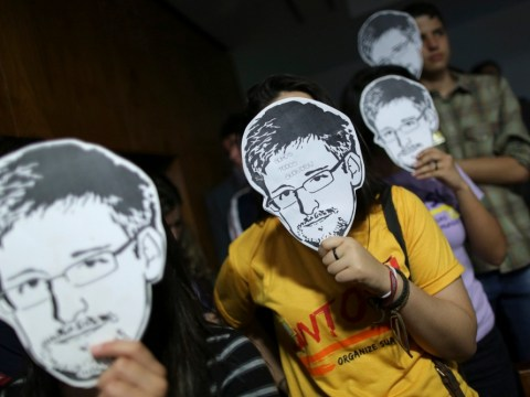 Guardian's Edward Snowden laptops 'smashed as British spooks looked on', editor Alan Rusbridger claims