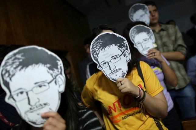 Edward Snowden journalist's partner detained under terror laws