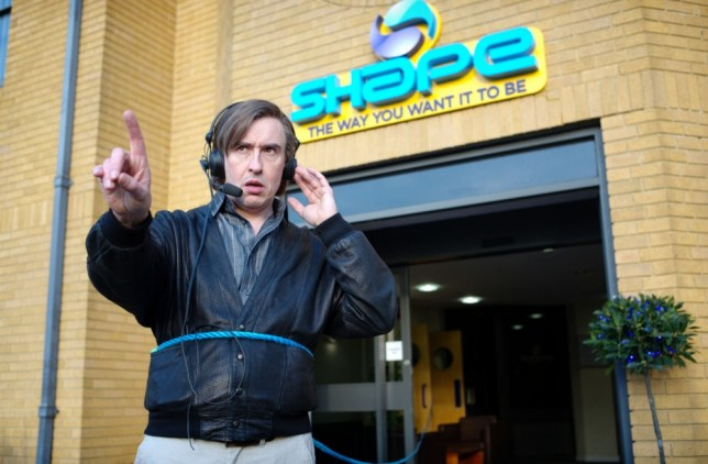 Norwich's finest Alan Partridge points out another East Anglian landmark (Picture: Studio Canal)