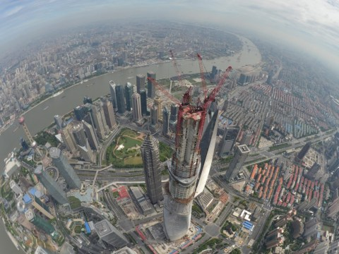China's Shanghai Tower is finally finished – and it puts The Shard in the shade