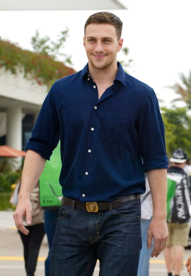 Aaron Taylor Johnson I M Too Young To Play Christian Grey Metro News