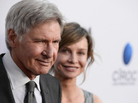 Harrison Ford's wife Calista Flockhart 'jetting to UK to be by actor's bedside' after Star Wars set injury