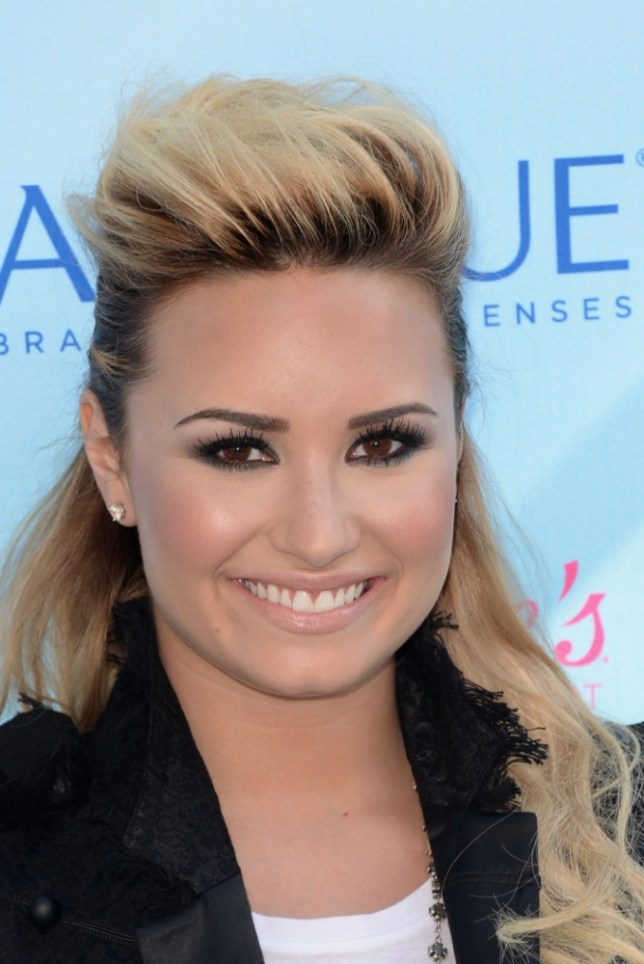 Singer Demi Lovato attends the Teen Choice Awards 2013 at Gibson Amphitheatre on August 11, 2013 in Universal City, California. (Picture: Getty)
