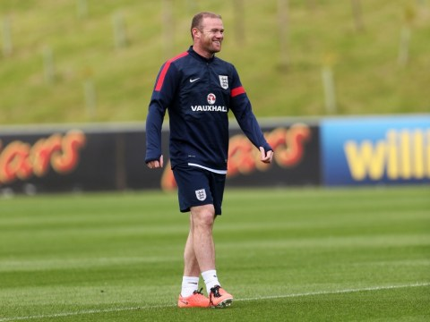 Gallery: Wayne Rooney joins England training session ahead of Scotland friendly