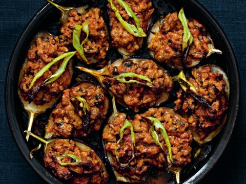 How to cook Rebecca Seal's Turkish aubergines stuffed with lamb