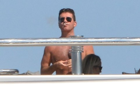 Simon Cowell 'bans pregnant Lauren Silverman from joining him on Med holiday'