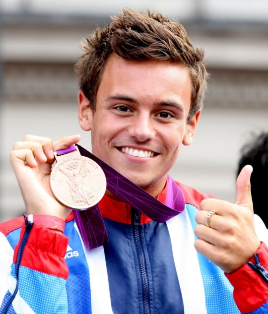 Tom Daley: I'm dating a guy and couldn't be happier
