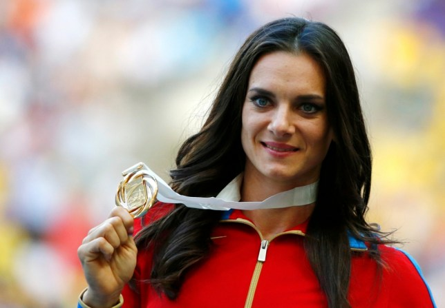 Don't support gay people in Russia, Olympics star Yelena Isinbayeva tells athletes
