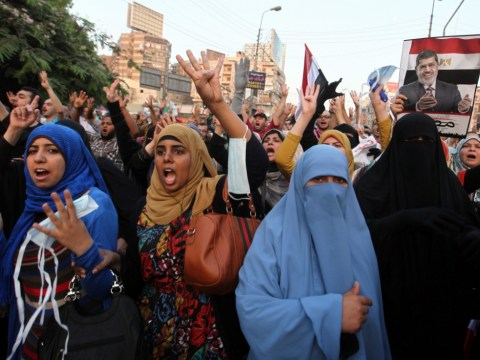 Gallery: Supporters of deposed Egyptian president Mohammed Morsi protest in Cairo