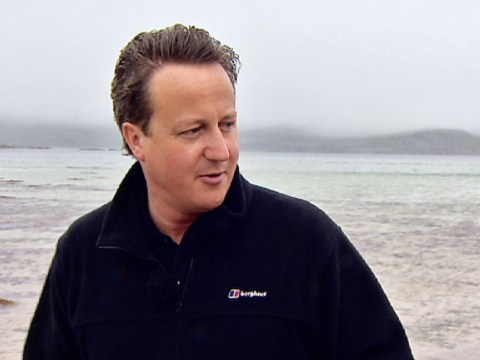 David Cameron: I can't go deer stalking because I've got a phenomenally bad back
