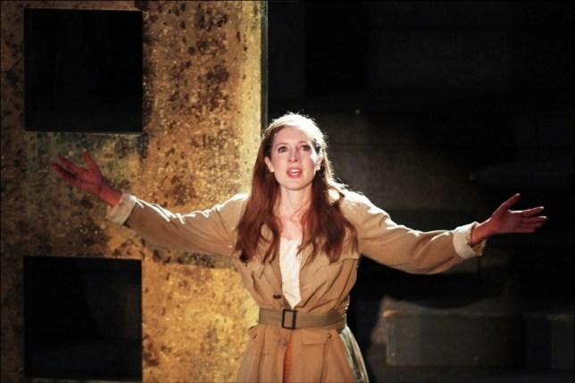 Lucy Cudden plays Antigone in the Greek drama The Thebans  (Picture: Sheila Burnett)
