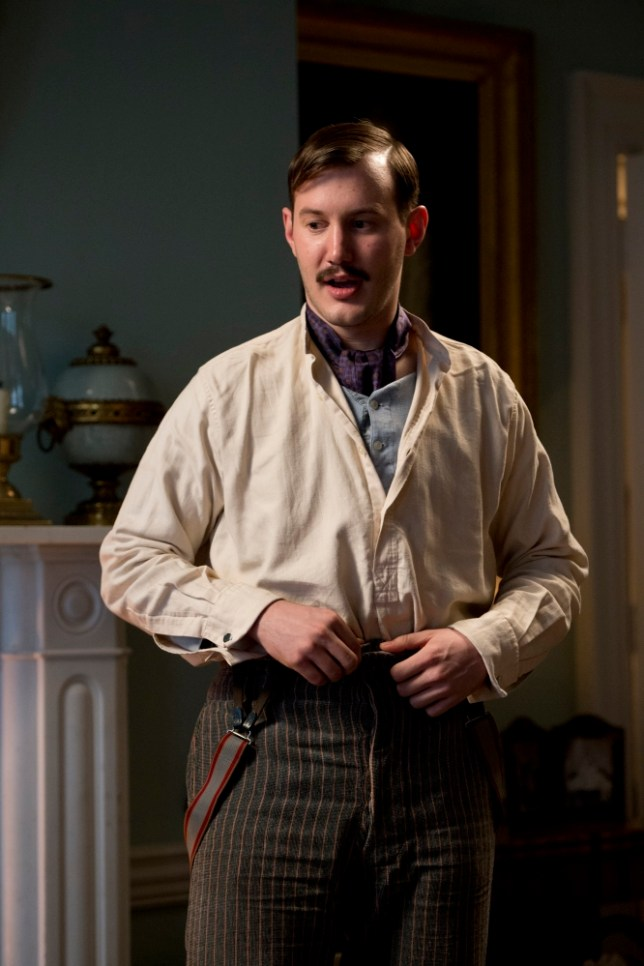 Jonny Sweet as Bert in Chickens (Picture: Big Talk Productions)