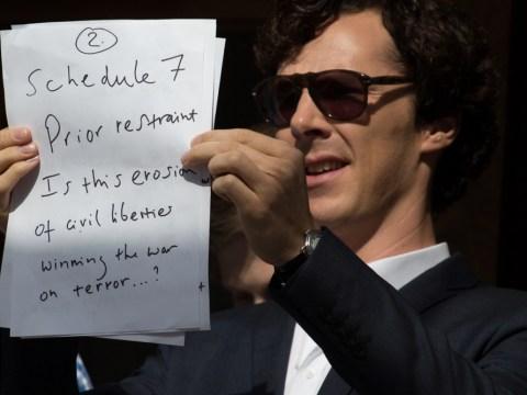Sherlock star Benedict Cumberbatch questions decision to detain David Miranda