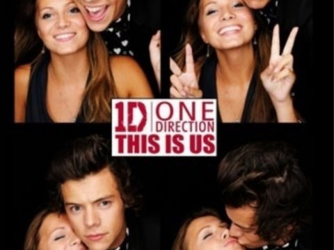 One Direction star Harry Styles caught kissing mystery brunette at This Is Us after party
