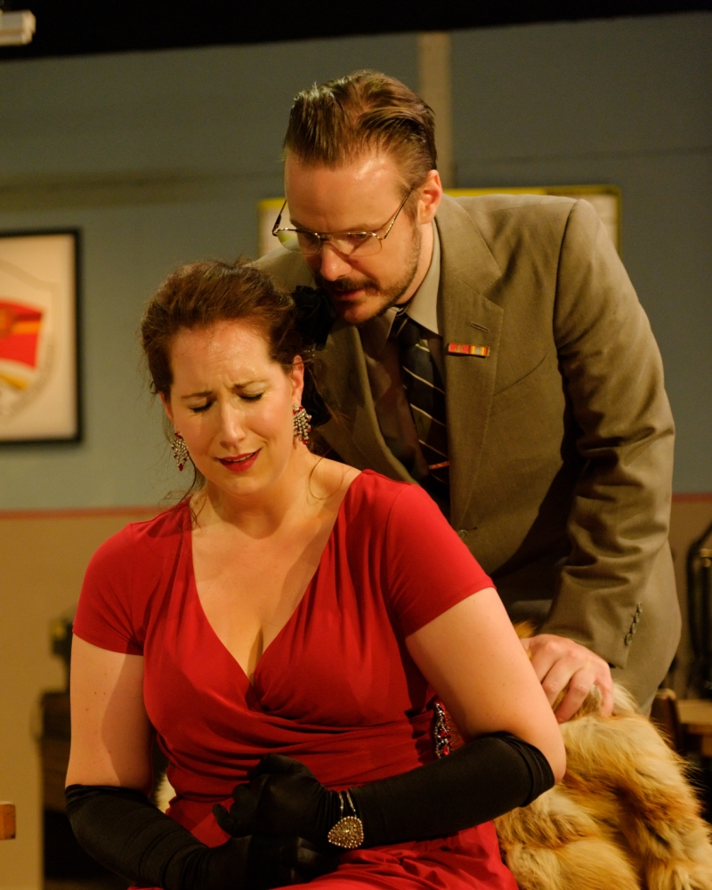 Demelza Stafford and Francis Church in Tosca (Picture: Simon Kaye)