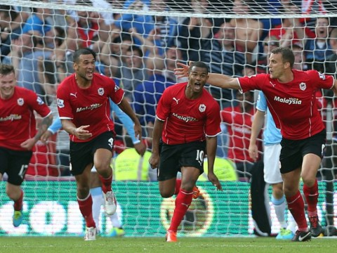 Fraizer Campbell pounces on Joe Hart blunder to record famous Cardiff win over Manchester City