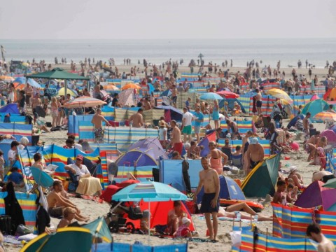 Britons go mad for day trips, sausages and beer over record-breaking bank holiday weekend worth £2.5bn