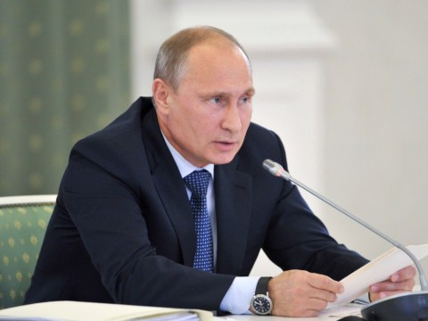 Vladimir Putin tells David Cameron and West: Stay out of Syria