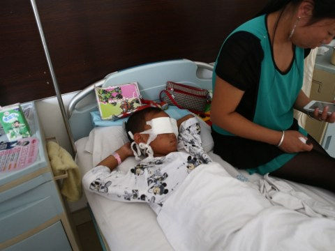 Boy, 6, has eyes gouged out by suspected organ trafficker