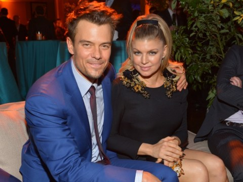 Josh Duhamel has denied claims he 'urged' wife Fergie to quit the Black Eyed Peas