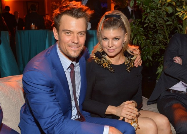 Josh Duhamel denied claims he advised wife Fergie to quit the Black Eyed Peas (Picture: Getty)