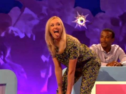 Fearne Cotton impersonates Miley Cyrus' VMAs twerk on Celebrity Juice