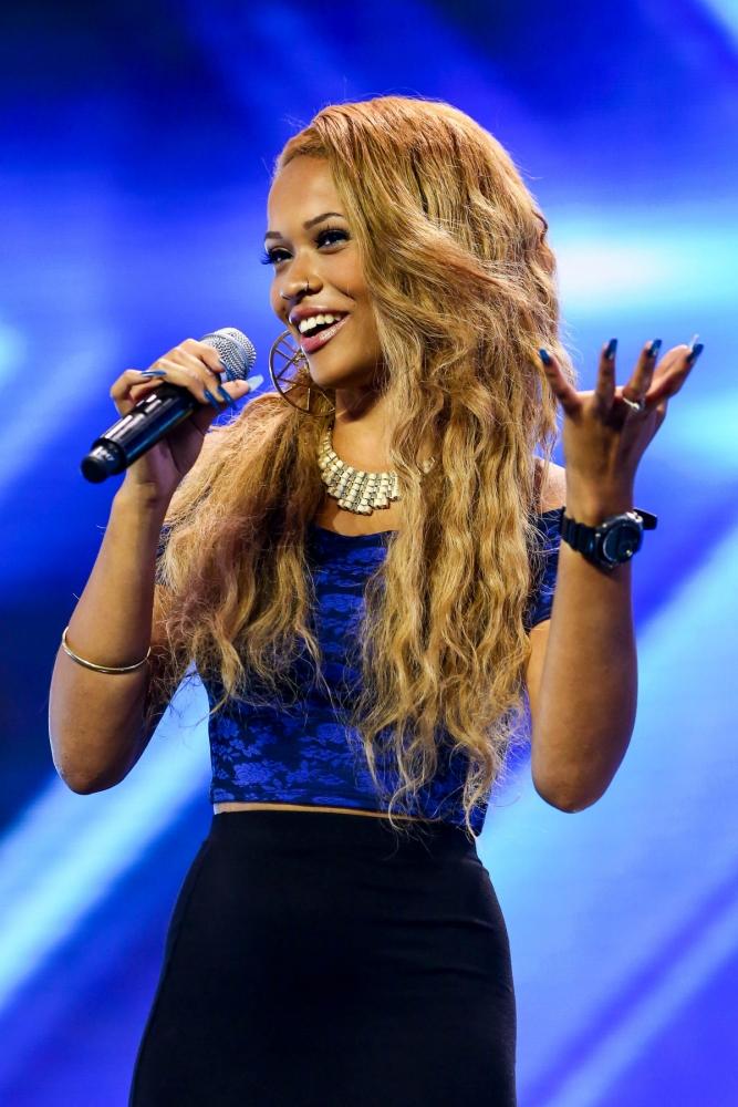 X Factor's Tamera Foster