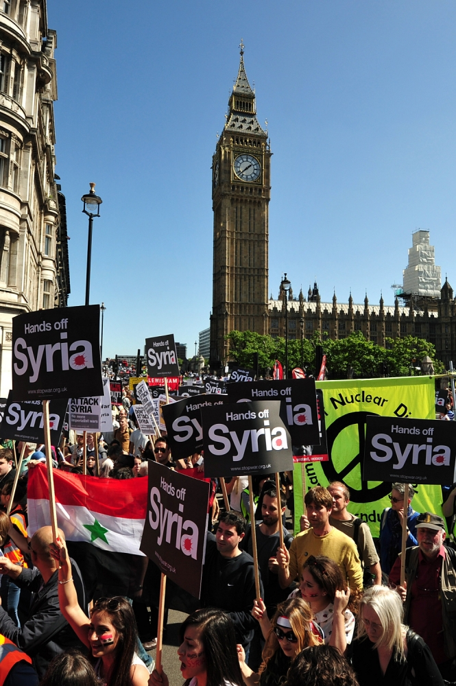 Gallery: Syria Stop the War protest in London
