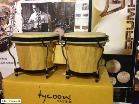 Ukip MEP Godfrey Bloom given free bongos after 'bongo bongo land' comments