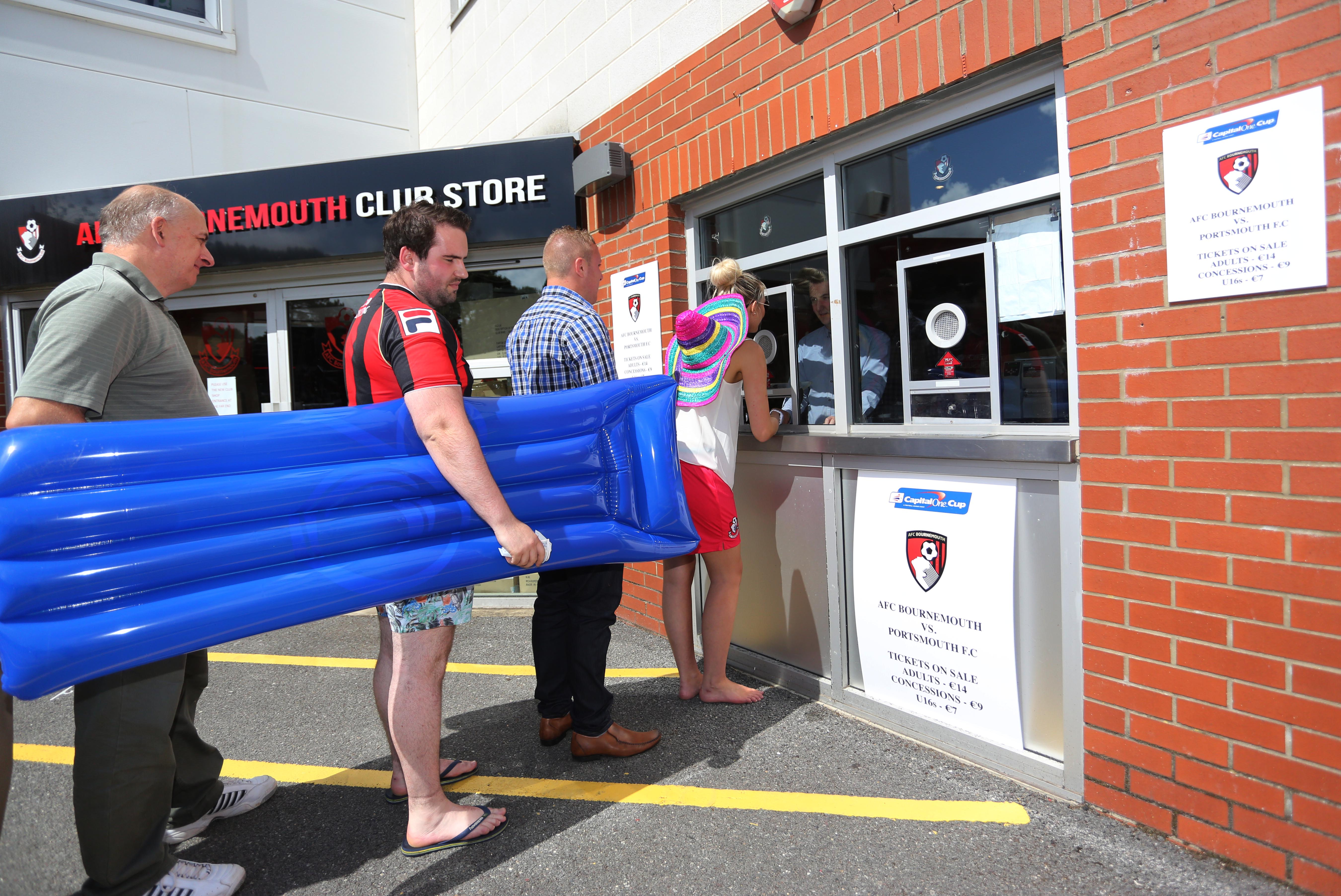 AFC Bournemouth fans prepare for rare night of euro action