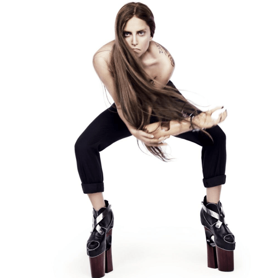 Lady Gaga is rocketing up the chart (Picture: Twitter/Lady Gaga)