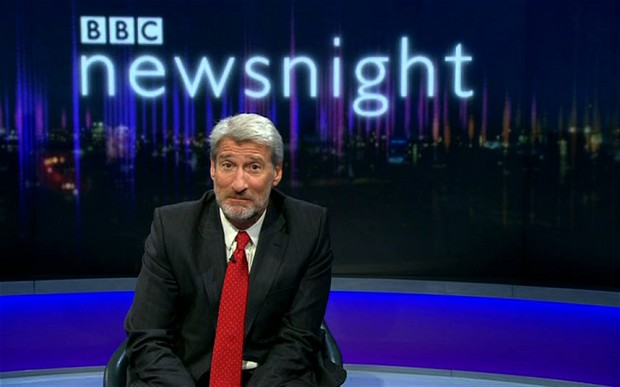 Beardgate 2013: Jeremy Paxman's beard is out and proud