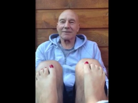 Ever wonder what it would be like to be Patrick Stewart's girlfriend?
