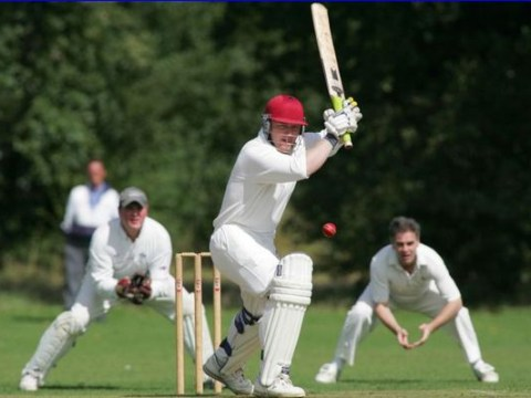 So howzat for lousy? Village cricket team bowled out for 11