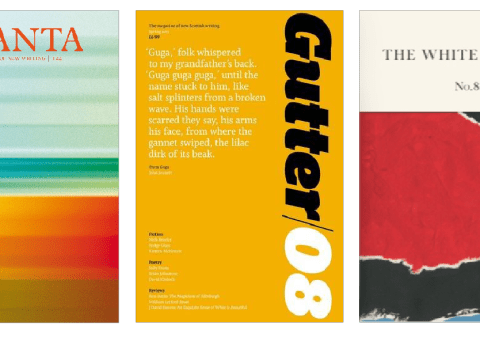 Shelf Space: Literary magazines including Granta, Gutter and The White Review
