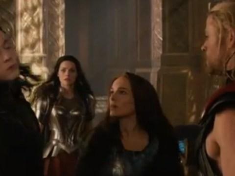 Thor: The Dark World trailer shows Jane Foster punching Loki