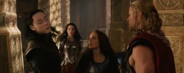 Jane Foster punches Loki in the face (Picture: Marvel)