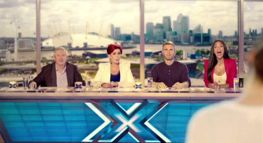 X Factor 2013 judging panel