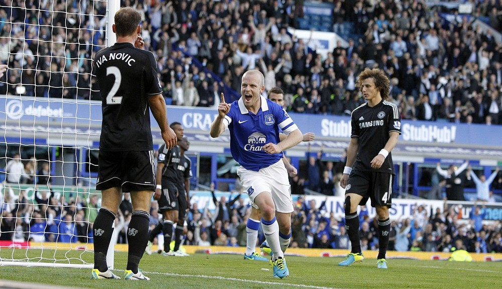 Steven Naismith is a Sunday league player who belongs on Everton's bench
