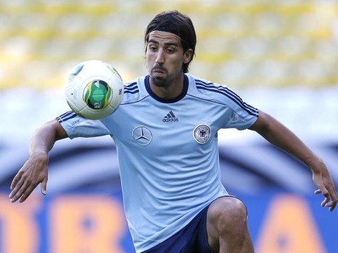 Sami Khedira 'open' to the idea of joining former Real Madrid team-mate Mesut Ozil at Arsenal