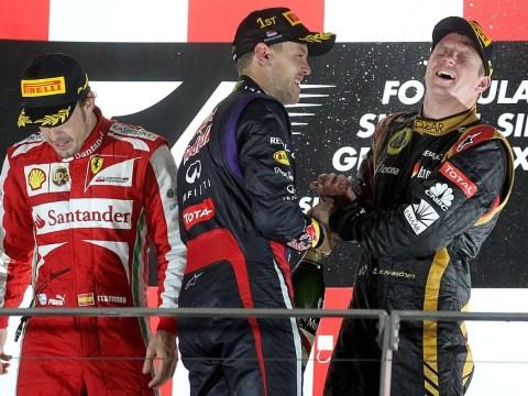 Fernando Alonso admits defeat in Formula One championship race after Sebastian Vettel's win in Singapore