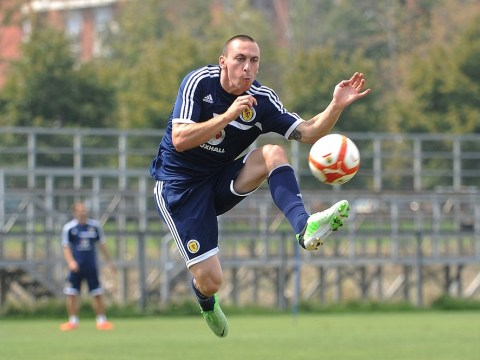 Scott Brown wants Scotland ready for battle against Macedonia