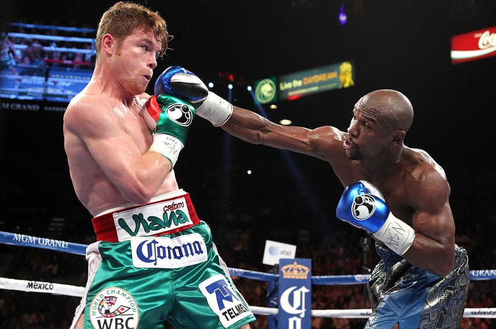 Floyd Mayweather produces another masterclass to outpoint Saul Alvarez in Las Vegas