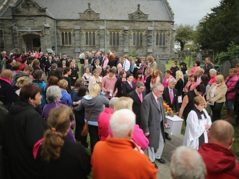 April Jones funeral: town decorated pink in her memory says farewell to murdered five-year-old