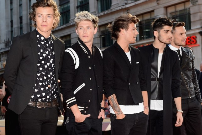 One Direction could be set to top the Christmas album charts (Picture: Getty)