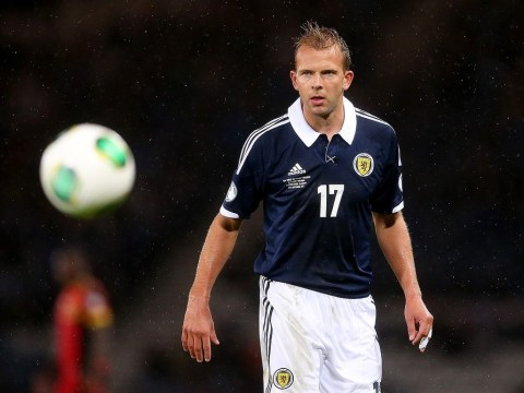 Jordan Rhodes and Charlie Adam out of Scotland's World Cup qualifier in Macedonia