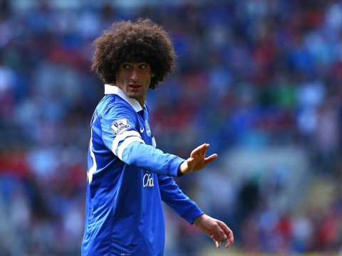 Marouane Fellaini hands in transfer request to push through his move from Everton to Manchester United