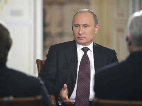 Vladimir Putin warns the west against military action in Syria