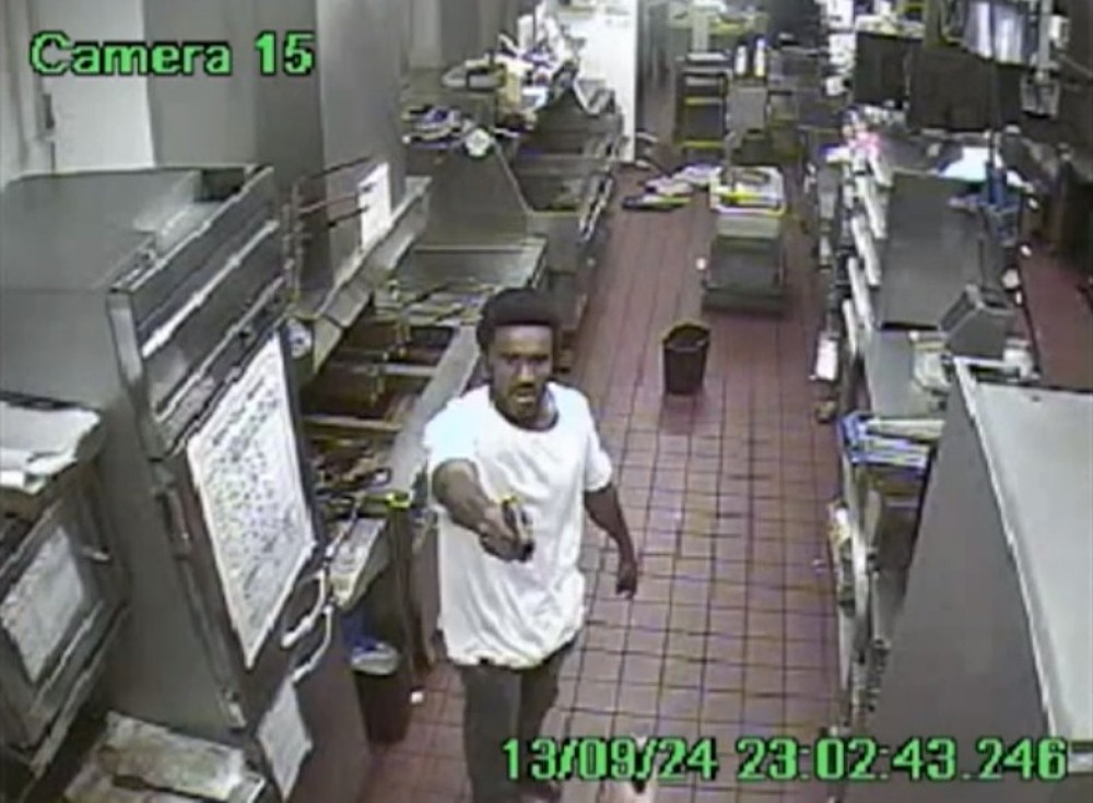 Gunman's plot to hold up McDonalds fails when weapon jams