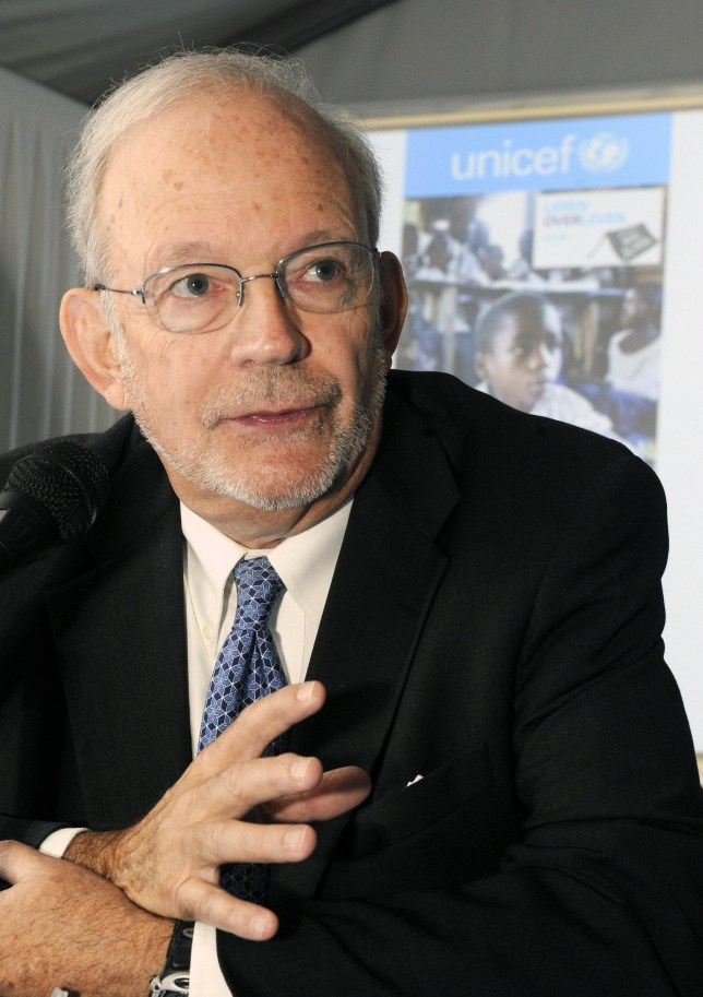 Progress: Unicef executive director Anthony Lake (Picture: Getty)